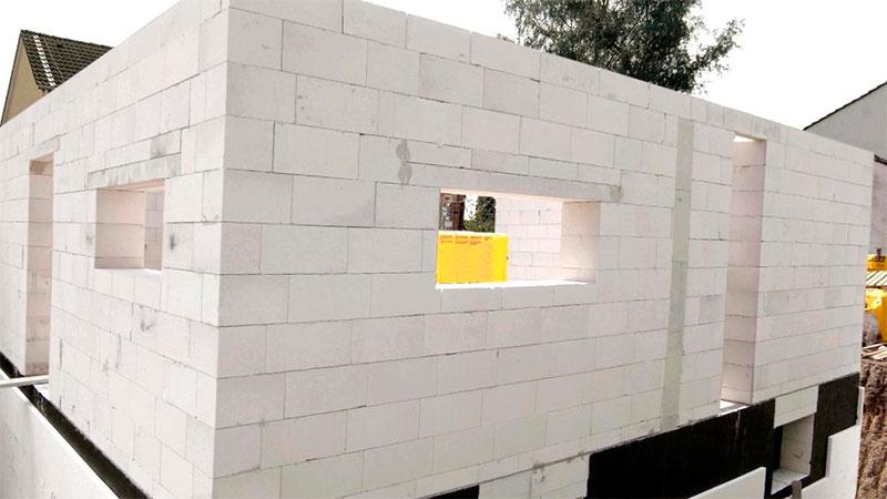 Строительство дома своими руками с пеноблока