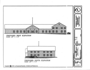 2002 REVISED MASTER PLAN - ELEVATIONS