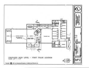 2002 REVISED MASTER PLAN - MAIN LEVEL
