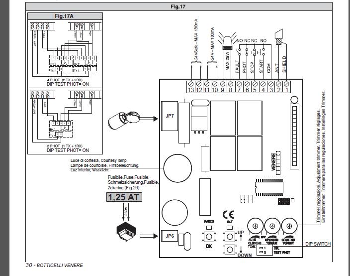 schema cablage for ba