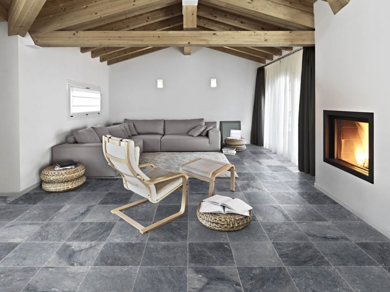 Dalle Exterieur Gris Anthracite Dallage Pierre Naturelle | Dimension Carrelage, Magasins