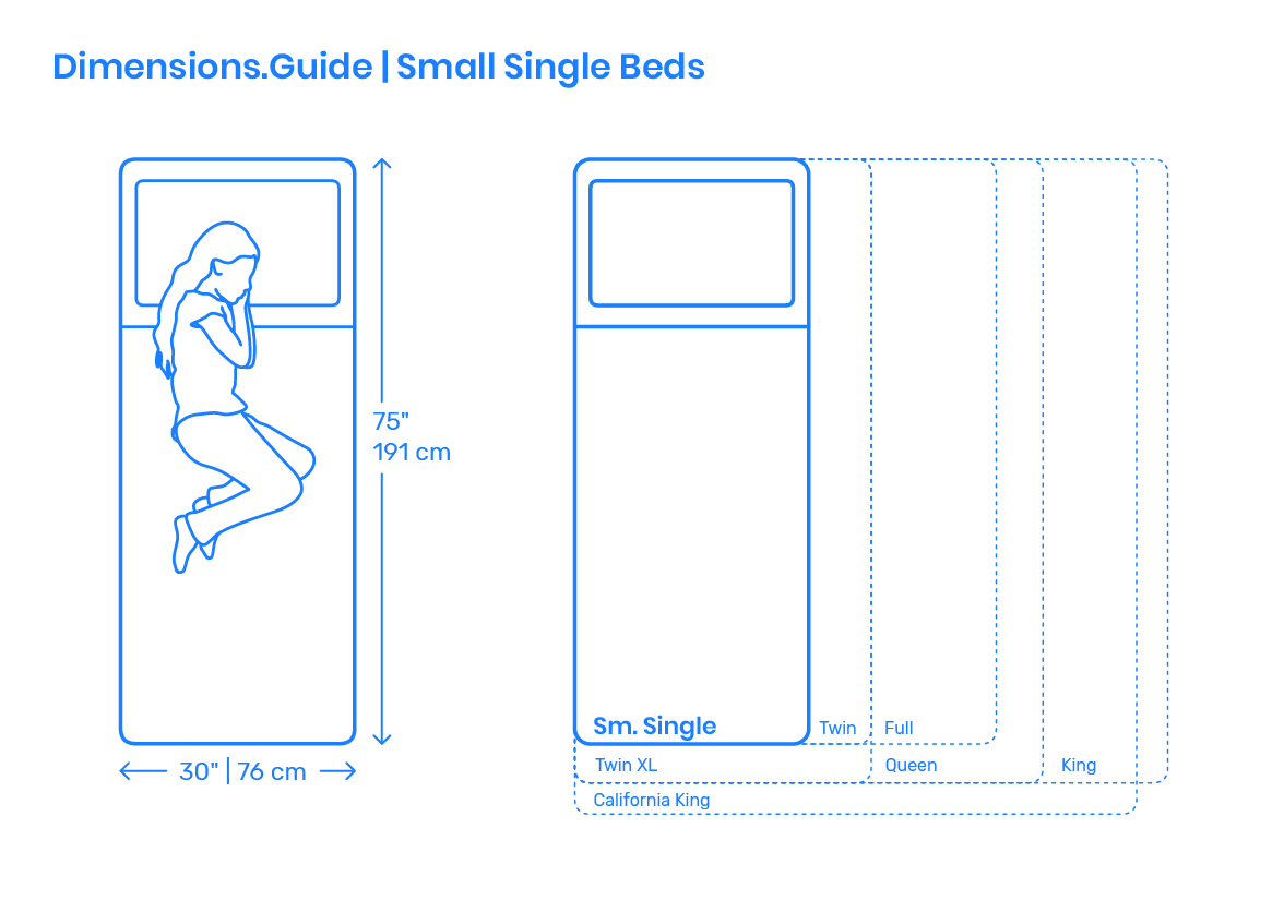 Standard Queen Size Bed Dimension Small Single Beds Dimensions Drawings Dimensions Guide