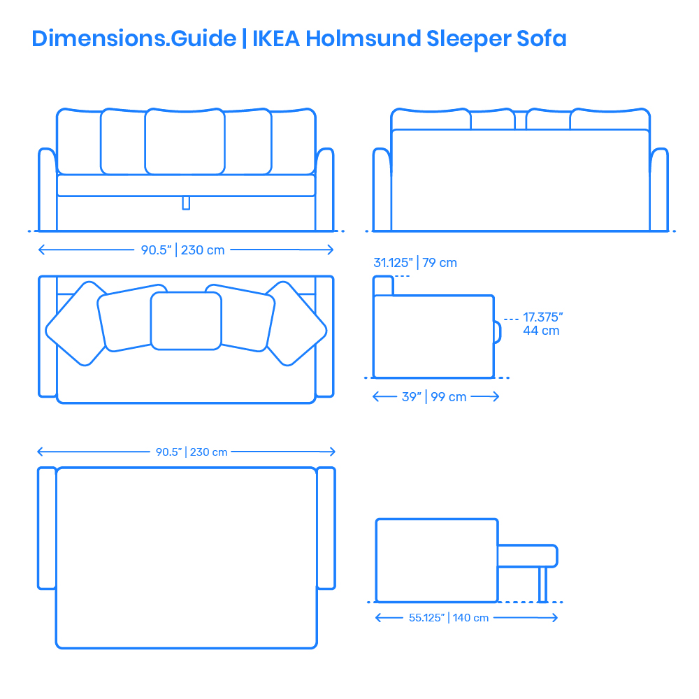 Ikea Flottebo Sleeper Sofa Dimensions Drawings Dimensions Com - Divano Angolare Holmsund