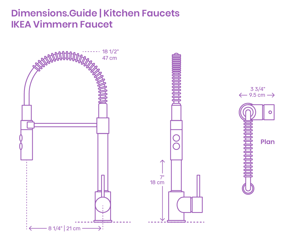 Ikea Küche Dwg Ikea Vimmern Kitchen Faucet Dimensions Drawings Dimensions Guide