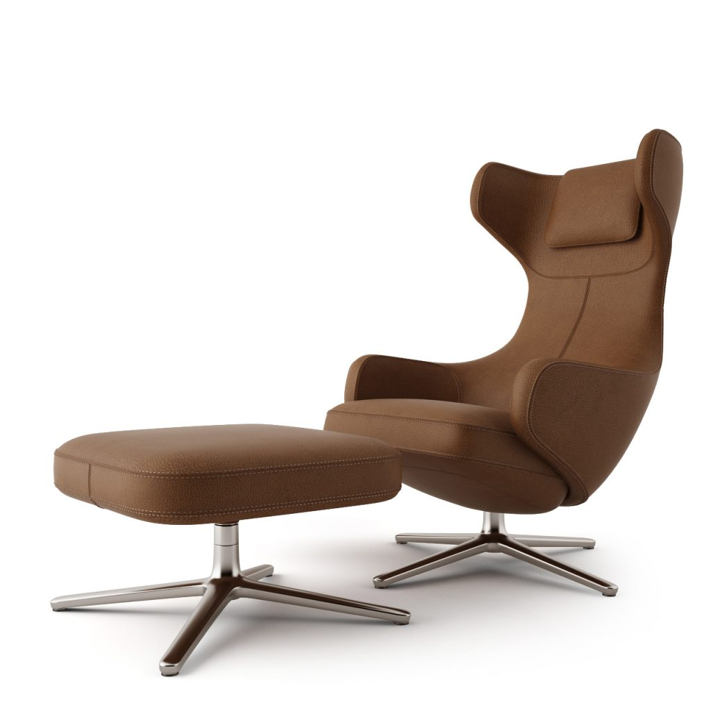 Vitra Grand Repos Grand Repos Lounge Chair By Vitra Dimensiva