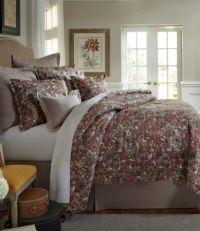Villa by Noble Excellence Alara Floral Jacobean Comforter ...