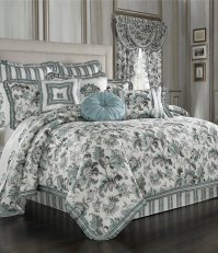 J. Queen New York Atrium Jacobean & Striped Floral ...