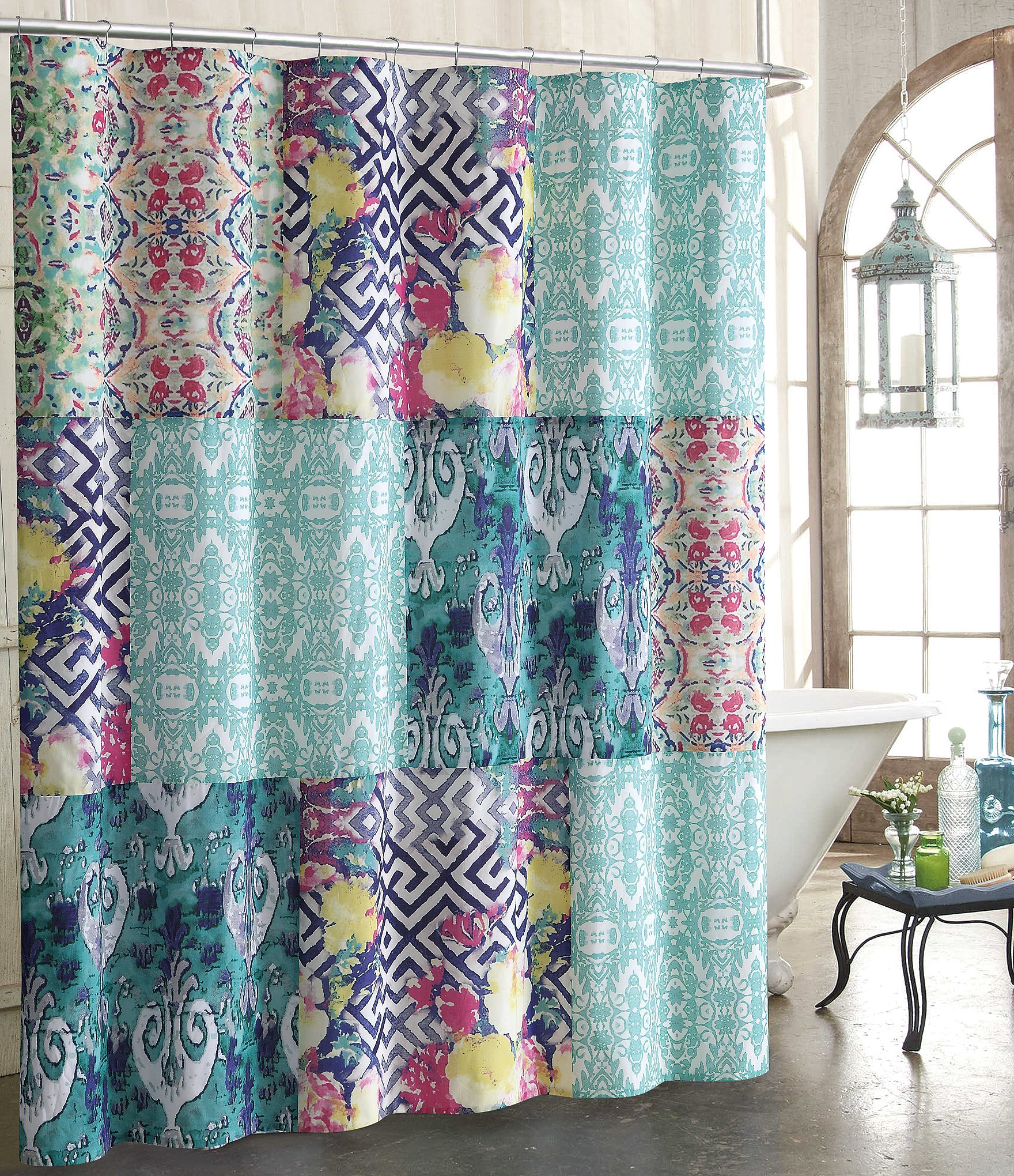 Solid teal shower curtain -  Solid Teal Shower Curtain 30 Download