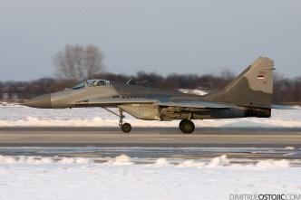 "Serbian Air Force - 101st Fighter Squadron ""Vitezovi"" ( Knights ) / Batajnica Air Base / February 2010 photo © Dimitrije Ostojic 2009 www.dimitrijeostojic.com"