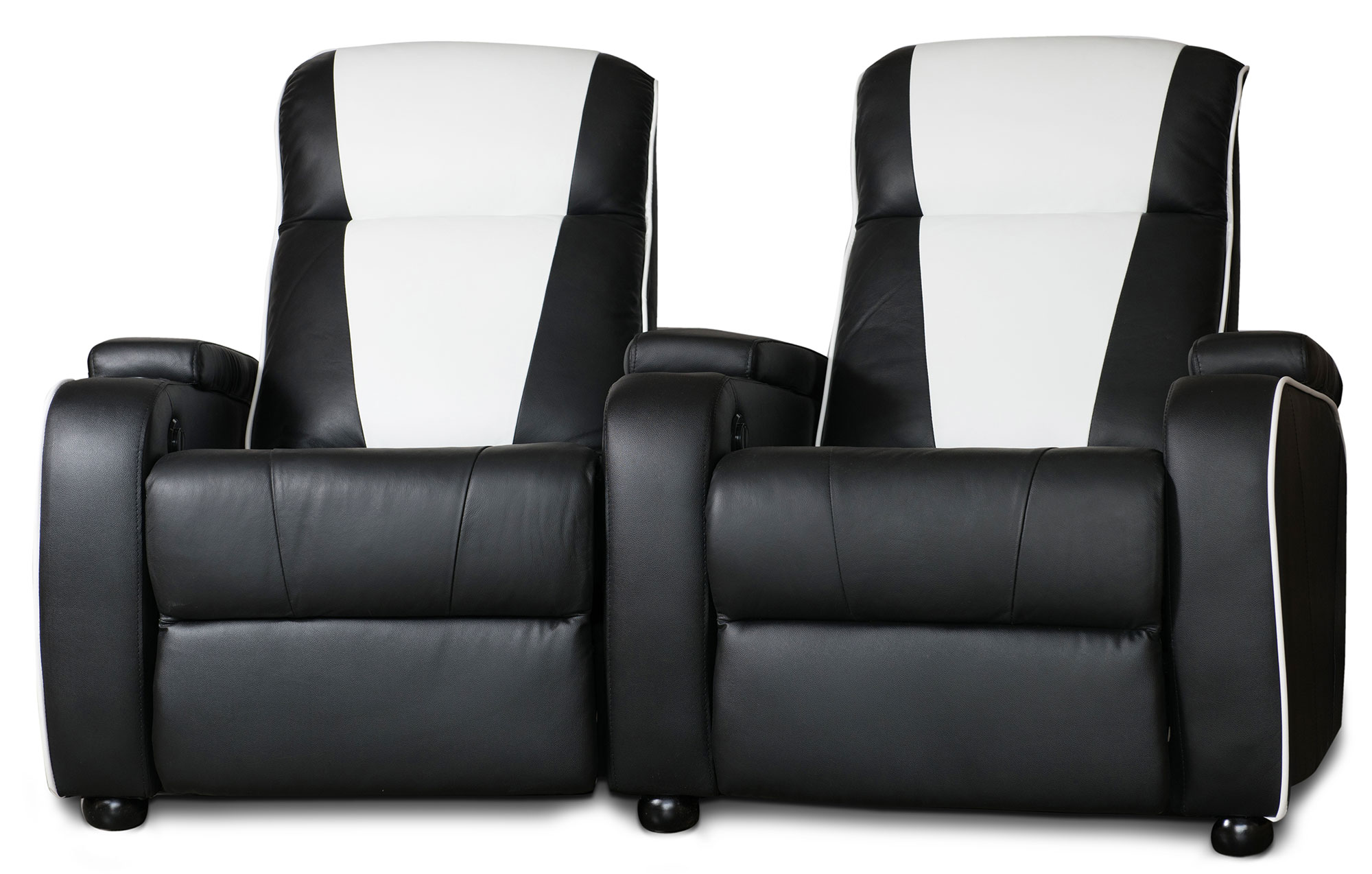 Home Cinema Sessel Metro Home Cinema Chair Double Black