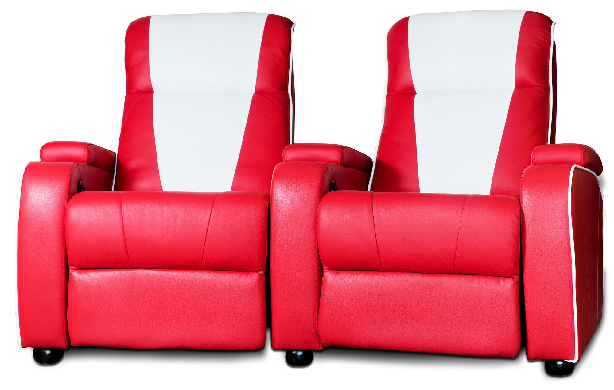 Home Cinema Sessel Metro Home Cinema Chair Double Red