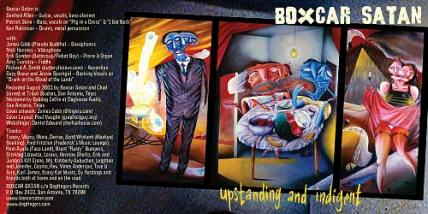 CD booklet front and back cover spread