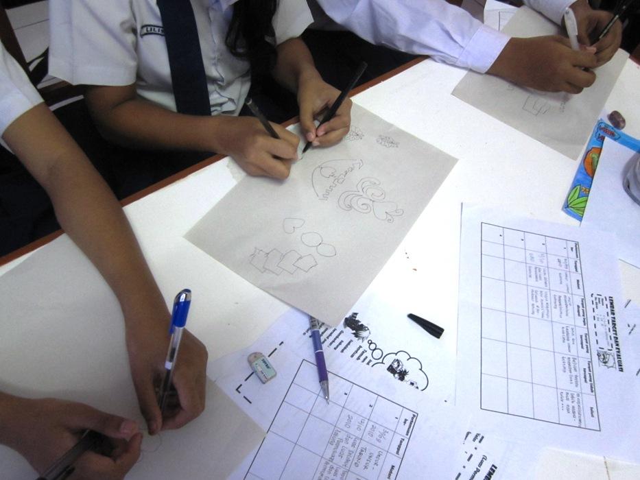 Hubungan Bimbingan Belajar Dengan Aktivitas Belajar Siswa Belajar Wikipedia Bahasa Indonesia Ensiklopedia Bebas Gambar 3 Siswa Sedang Melakukan Senam Otak Yaitu Menggambar Dengan