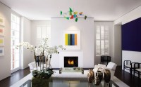 All White Living Room Design Ideas