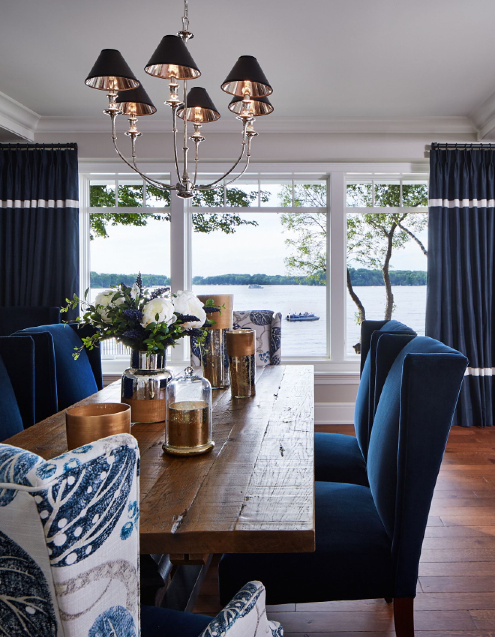 Dining Room Ideas In Blue 8 Trendy Dining Room Ideas For This Summer