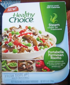 Healthy Choice Portabella Parmesan Risotto