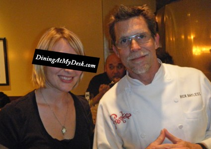 Rick Bayless and me