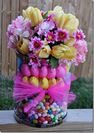 Easter Floral Peep Arrangement