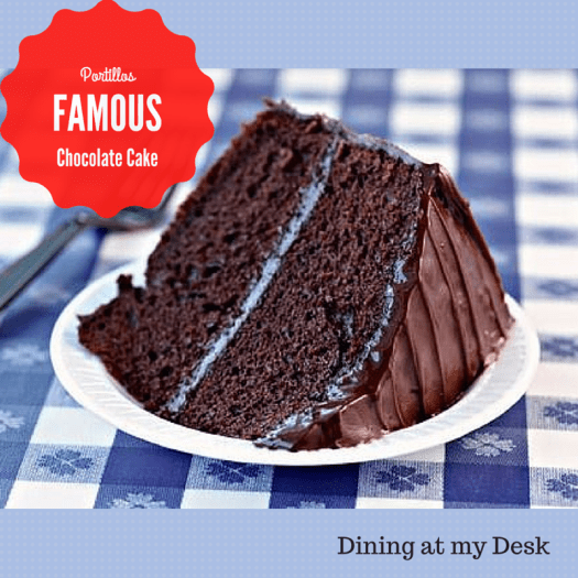 Portillos Famous Chocolate Cake Recipe