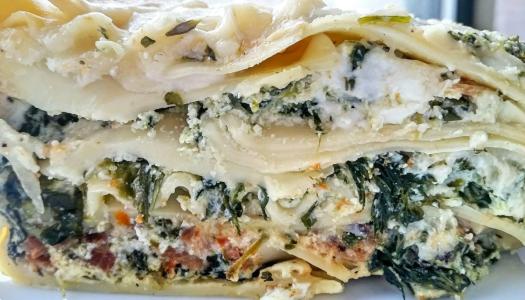Spinach Herb Lasagna