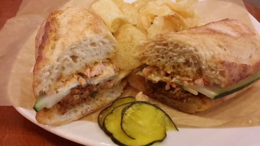 Sandwich at Lola in New Ulm, MN