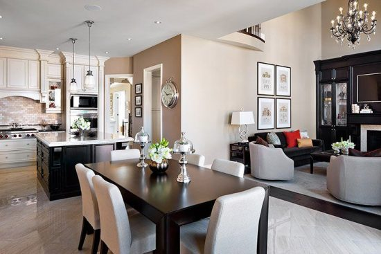 How to Perfectly Decorate a Living Room - Dining Room Combo - living room and dining room combo