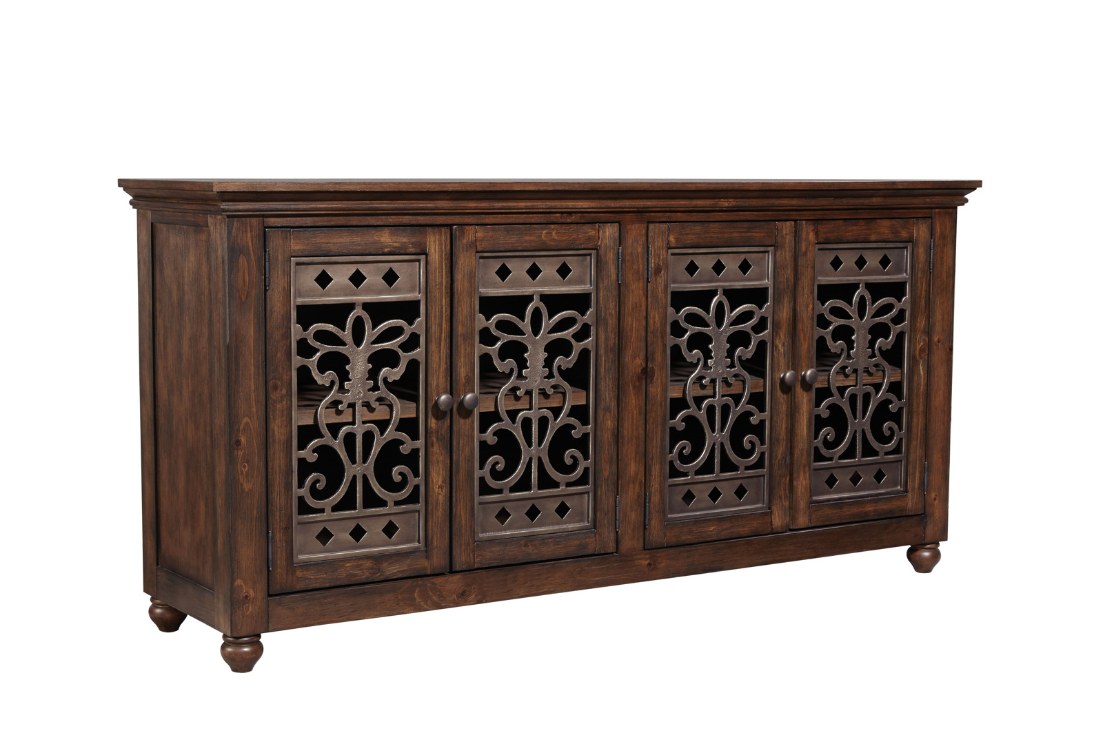 Sofa Outlet Paisley Standard Furniture Paisley Court Storage Buffet In Warm Tobacco 12822