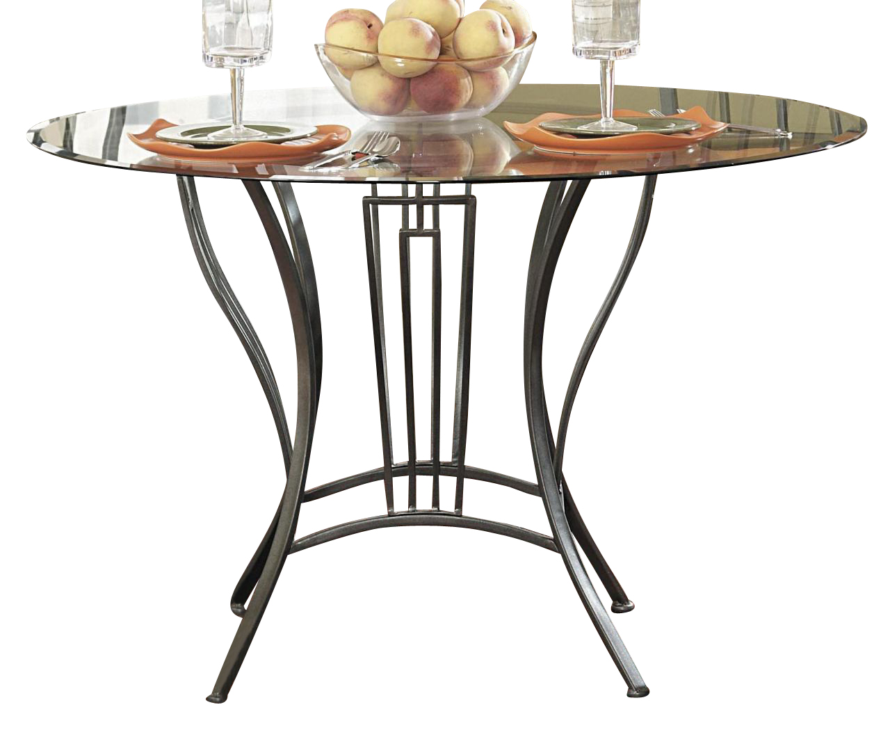 Table Manhattan Fly Homelegance Flight Counter Height Table In Dark Grey 2415