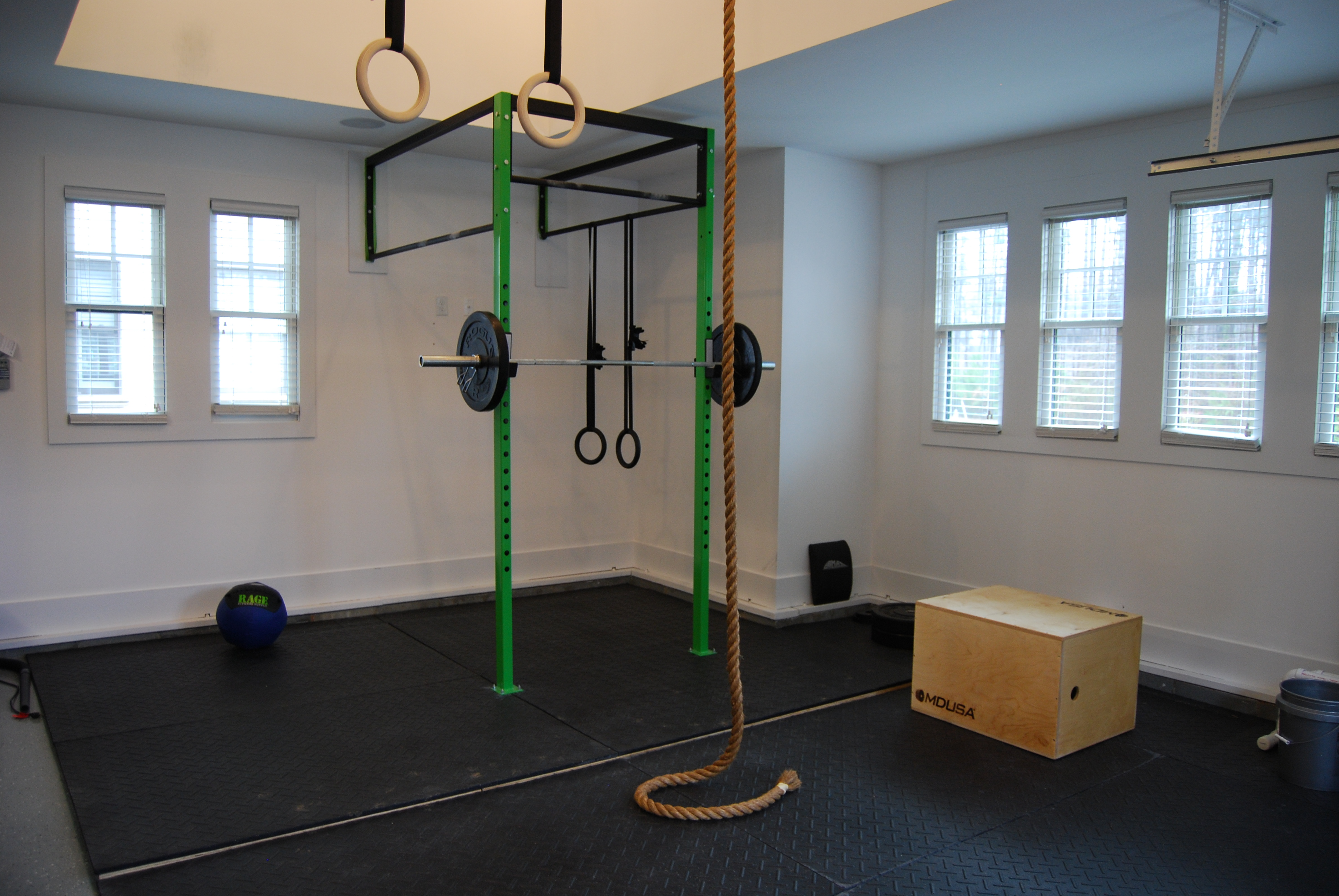 Garage workout u talenteo