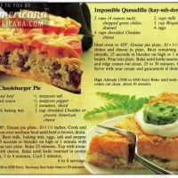 Impossible Quesadilla (that's kay-seh-dee-yah) Pie