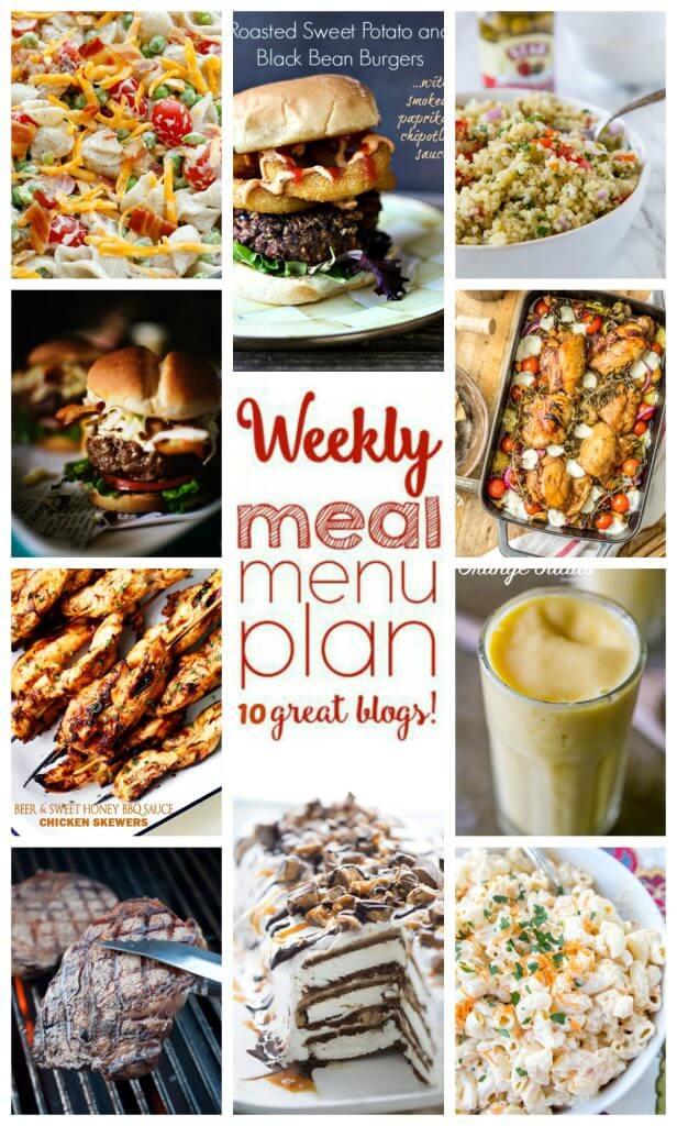 Easy Meal Plan Week 50 June 27 - July 3 - Foodie With Family