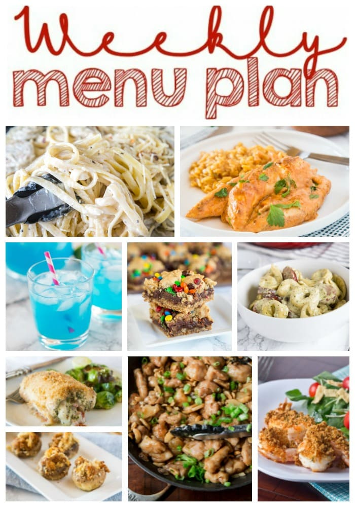 Weekly Meal Plan Week 192 - Dinners, Dishes, and Desserts