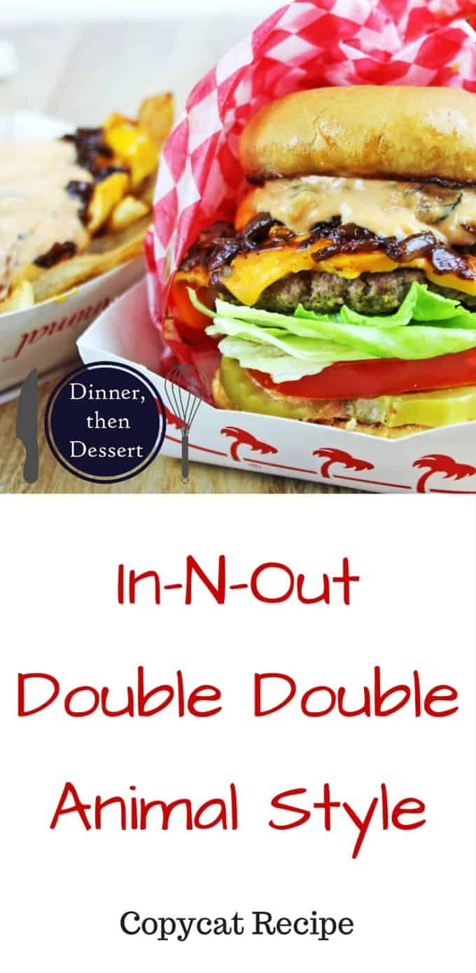 that has become a legend, the In-N-Out Double Double - Animal Style ...