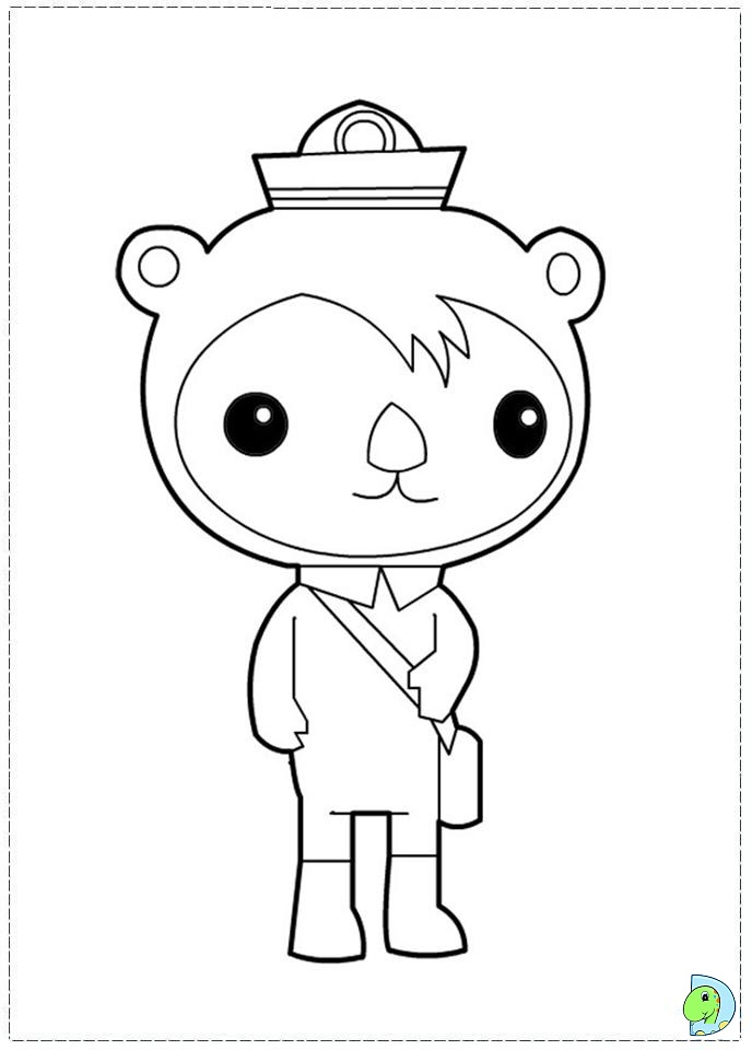 emejing octonauts coloring pages print images - wapaknews.us ... - Octonauts Coloring Pages Print