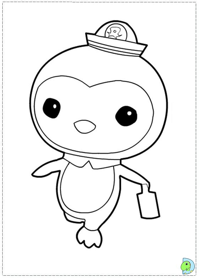 coloring pages free download print octonauts coloring pages print - Octonauts Coloring Pages Print