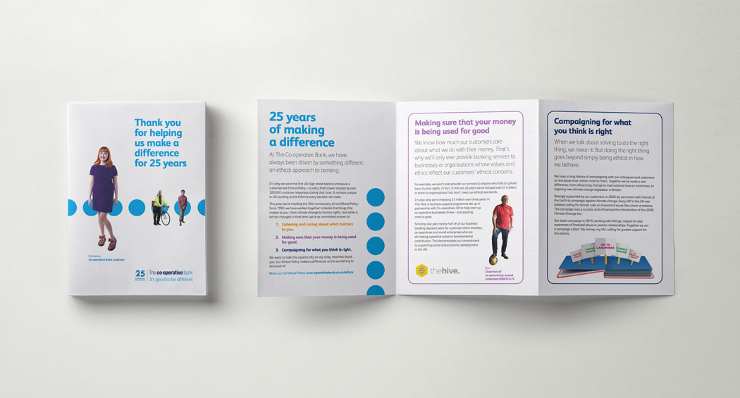 Bank Leaflet Design dnio