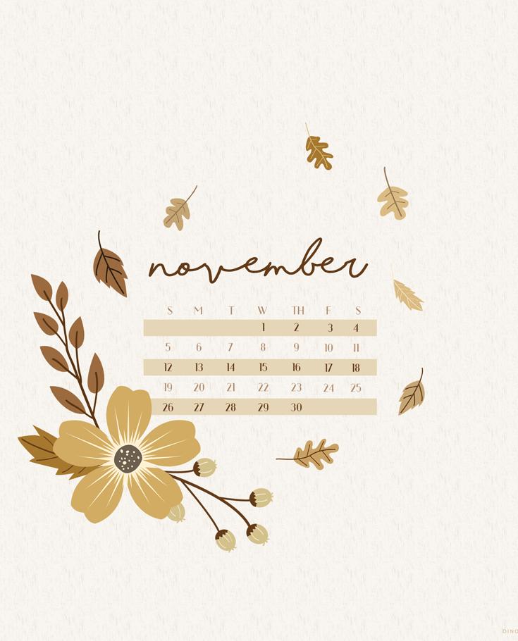 Fall Color Wallpaper For Desktop November 2017 Calendar Wallpaper For Desktop Amp Mobile