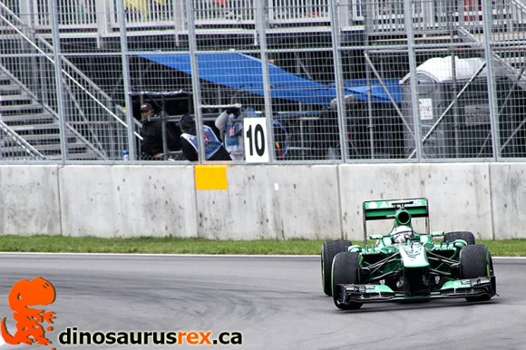 F1 Car - Montreal 2013