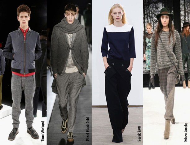 2013 New York Fashion Week - Pajama Silhouettes - Timo Weiland - Diesel Black Gold - Marc Jacobs - Derek Lam