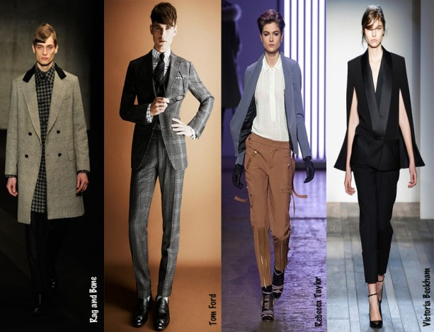 2013 New York Fashion Week - Suit it up - Rag and Bone - Tom Ford - Rebecca Taylor - Victoria Beckham