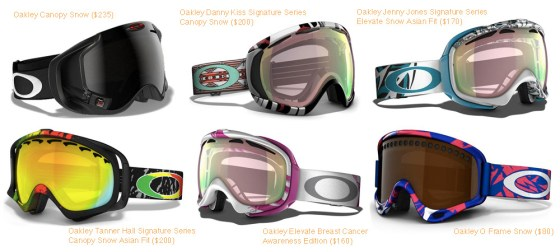Ski and Snowboard Style Guide - Goggles - Oakley