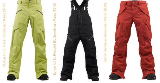 Ski and Snowboard Style Guide - Men's Snow Pants - Burton
