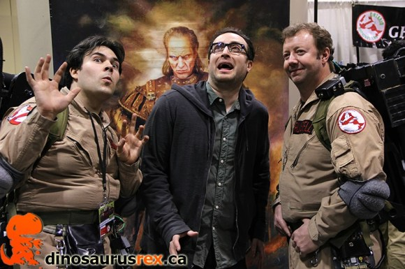 Cosplay Ghostbusters