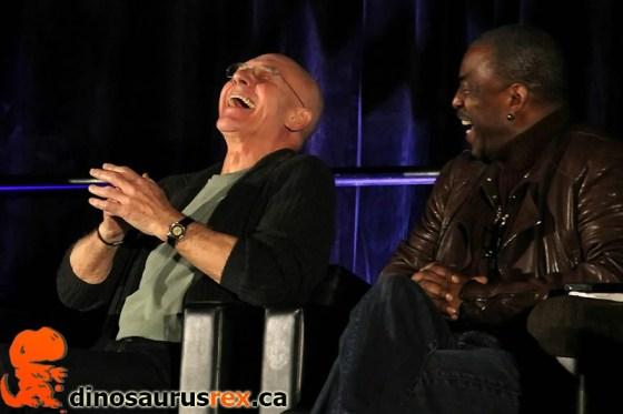Patrick Stewart Laughing
