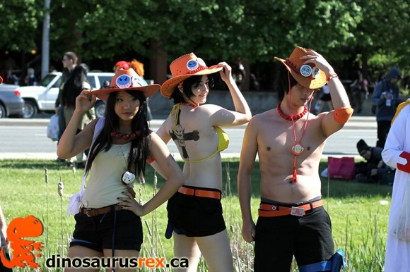 Anime North 2013 - One Piece Cosplayers