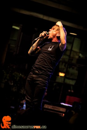 Benjamin Kowalewicz - Billy Talent - nxne 2013