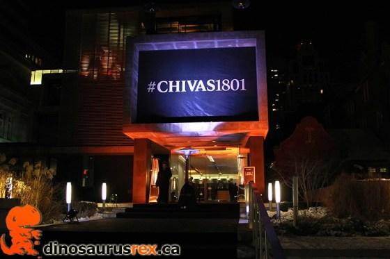 Chivas Regal Scotch - 1801 - Gardiner Museum - Toronto, Canada