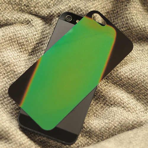 Heat Sensitive iPhone 5 Backing