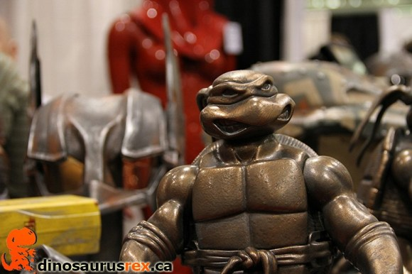 ninja turtle brass figurine
