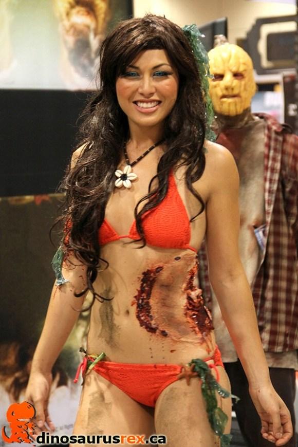 zombie girl cosplay